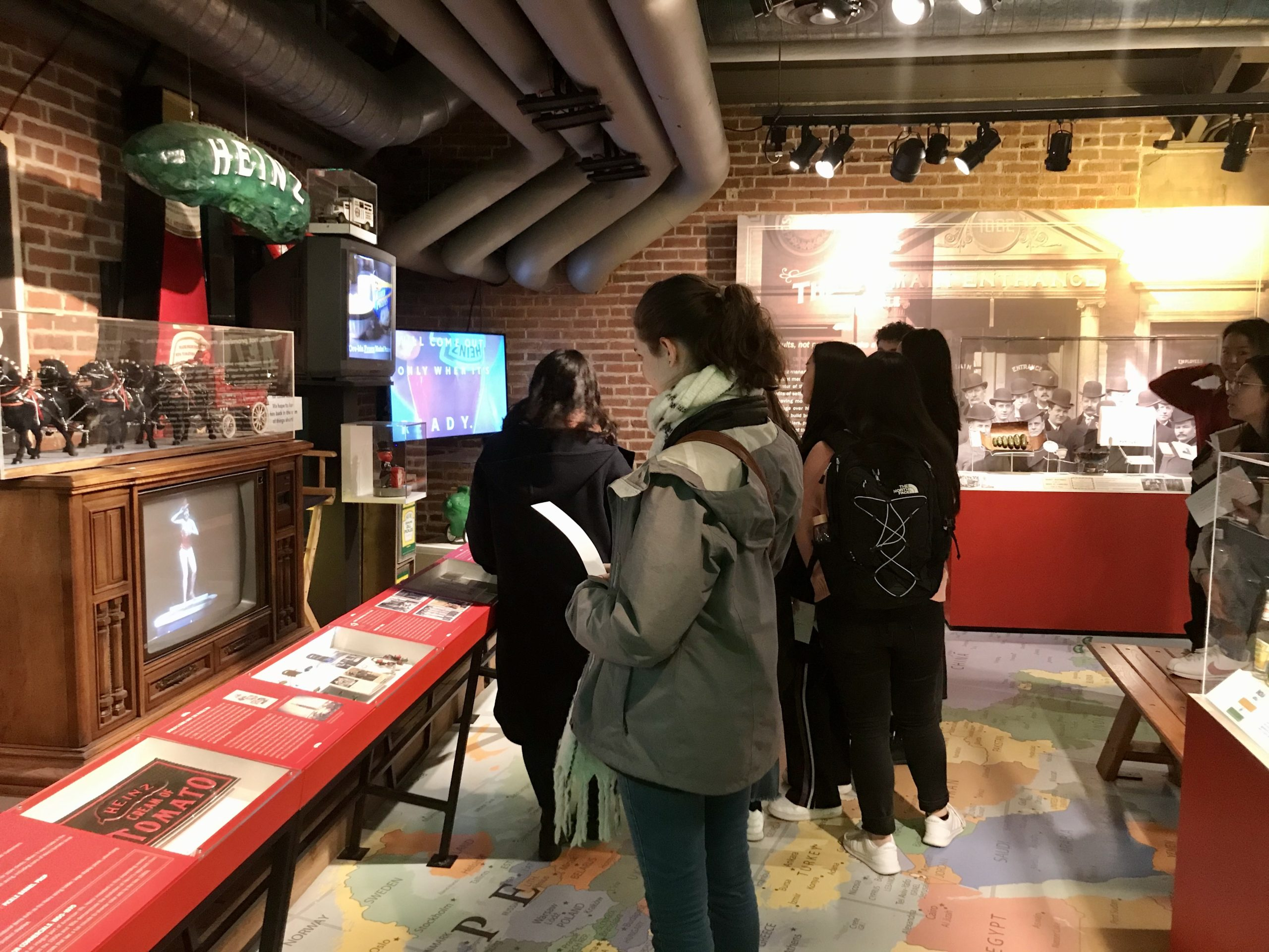 Class 3 / 01.29: Trip to the Heinz History Center
