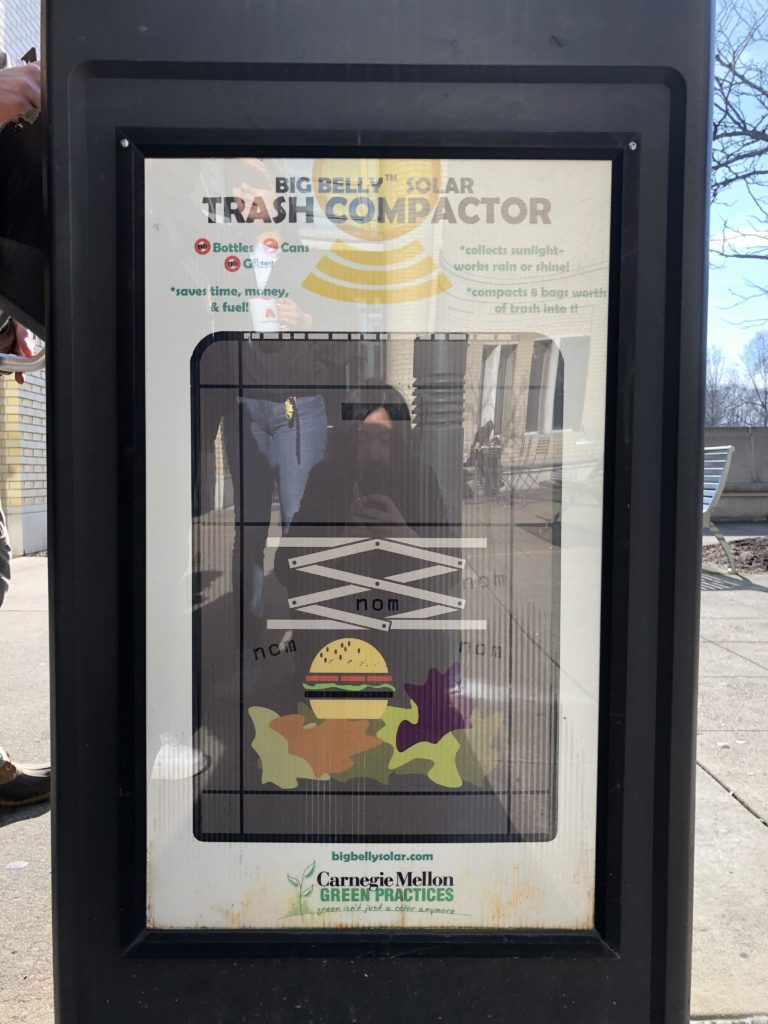 Time, Money, and Fuel Saving Solar Trash Compactor